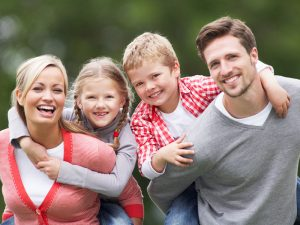 happy family discover dental