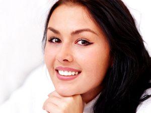 girl happy with treatment discover dental